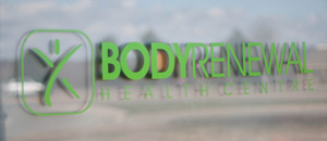 Body Renewal sign